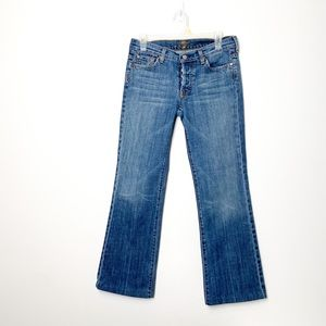 Vintage 7 for all mankind Boyfriend Mid Rise Jeans